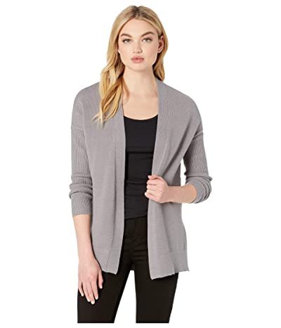 BB Dakota Just So Cozy Cardigan (Medium Grey) Women