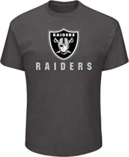NFL Mens Raiders S/S Crew Neck