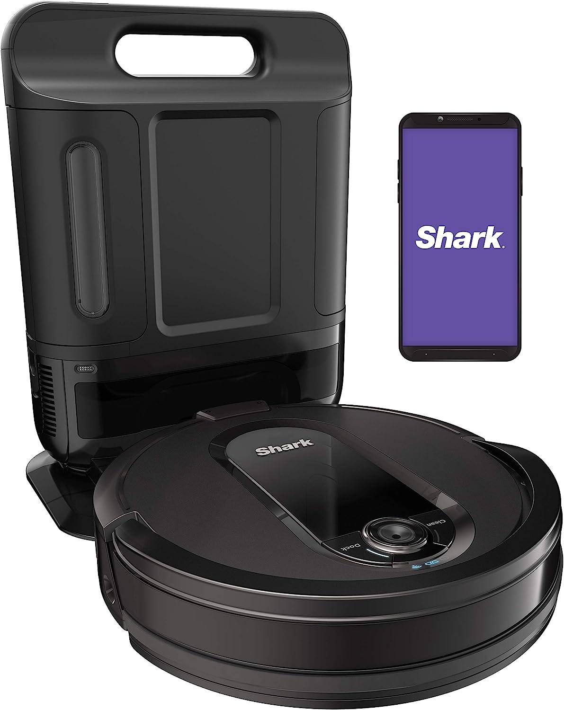 Shark AV1010AE IQ Robot Vacuum with XL SelfEmpty Base Advanced Navigation Mapping Wifi  Alexa