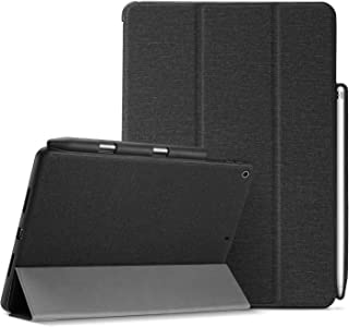 ProCase iPad 9.7 Case, Slim Folio Stand Protective Case Smart Cover for iPad 9.7 2018 iPad 6th Generation / 2017 iPad 5th Generation with Apple Pencil Holder –Black
