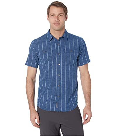 Royal Robbins Vista Dry Short Sleeve Shirt (Twilight Blue) Men