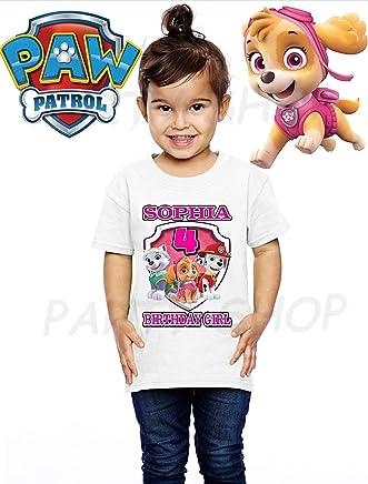 Girls Birthday Shirts PJ MASKS Birthday Party,ADD any name and age FAMILY Matching Shirts PJ Masks Amaya//Owlette Bu-hita Birthday Shirt PJ Masks Birthday Shirt PJ MASKS GIRLS BIG NUMBER #1