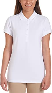 Nautica Junior's Uniform Short Sleeve Pique Polo