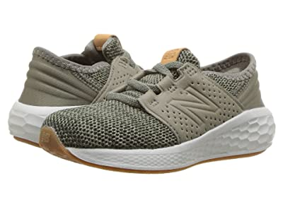 New Balance Kids KVCRZv2I Knit (Infant/Toddler) (Military Foliage Green/Rosin) Boys Shoes