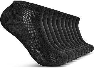 ROYALZ, Calcetines de zapatillas 10 pares de botas para hombre y mujer 10 paquetes de calcetines cortos transpirables ligeros y cómodos