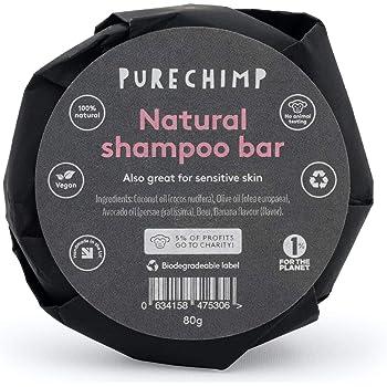 Natural Shampoo Bar 80g - Foamy Magic - Nourishing & Moisturising - Banana/Vanilla - Wrapped In Recyclable Paper + A Biodegradable Label