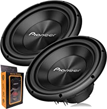 "Pair of Pioneer TS-A300D4 12"" Dual 4 Ohms Voice Coil Subwoofer - 1500 Watts (2 Subwoofer)"