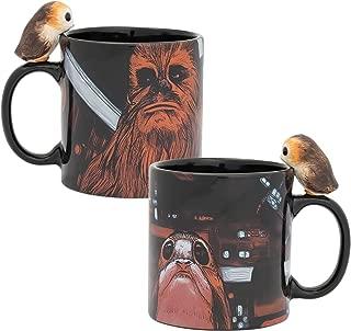 Vandor 56111 Star Wars Peeking Porg 20 oz. Sculpted Ceramic Mug