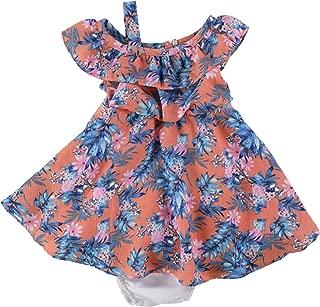 Girls Floral A-Line Dress