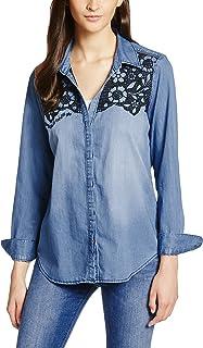 Amazon.es: camisa vaquera mujer - Desigual / Blusas y camisas ...