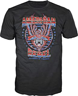 5 Star USA America Men's Graphic T-Shirt - American Flag, Patriotic, Vintage, Military, Americana Collection