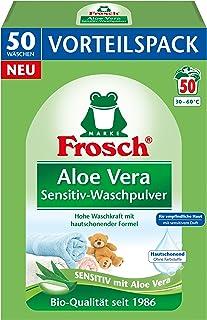 Frosch Aloë Vera Sensitive waspoeder, voor gevoelige huid, 3,3 kg, (1 x 50 wasladen)