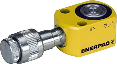 Enerpac RSM-50 Flat Jac Single-Acting Low-Height Hydraulic Cylinder with 5-Ton Capacity, Single Port, 0.25