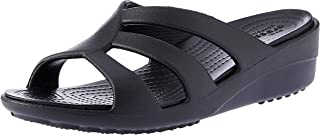 Crocs Womens Sanrah Strappy Wedge