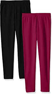 Girls 2-Pack Cozy Leggings