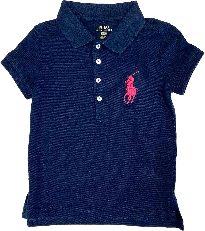 Polo Ralph Lauren Girl's Big Pony Polo Shirt