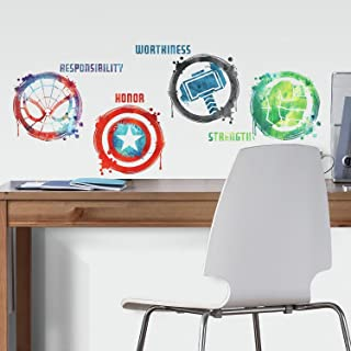 RoomMates Marvel Icons Peel And Stick Wall Decals
