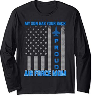 My Son Has Your Back Shirt Long Sleeve T-Shirt