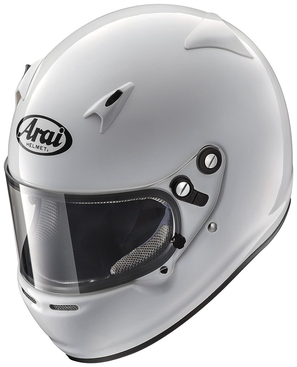 後闘争肥満アライ(ARAI) ジュニアカート競技用ヘルメット フルフェイス(54-56cm) CK-6K-S