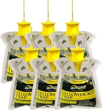 RESCUE! Disposable Summer Yellowjacket Trap, Outdoor, Non-Toxic - Western Time Zones (Pack of 6)