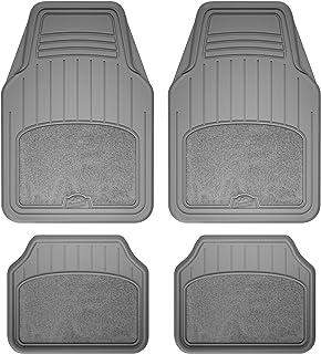 Armor All 78891 4-Piece Grey All Season Carpet & Rubber Floor Mat