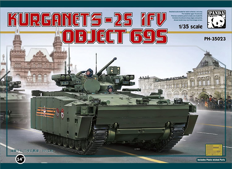 PH35023 1 35 BMP Object 695 Kurganet-25 [Model Building Kit]
