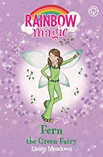 Rainbow Magic: Fern the Green Fairy: The Rainbow Fairies Book 4