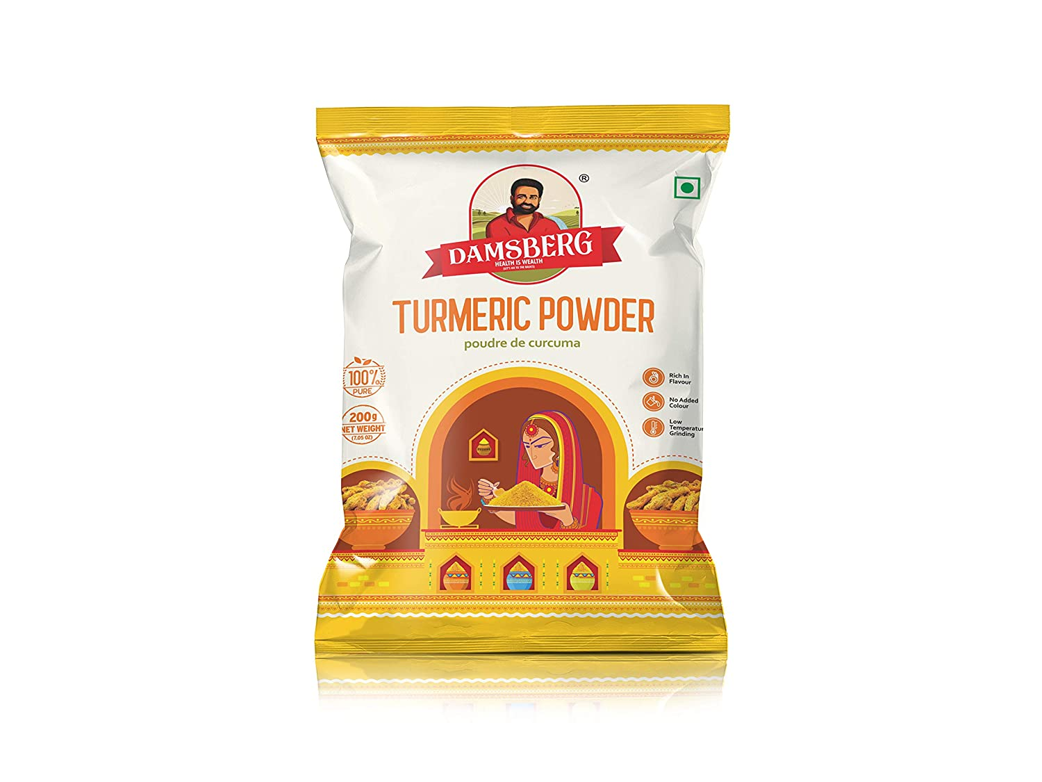 Free Shipping New Damsberg Turmeric Powder 7 10 of Max 87% OFF Ounce Pack