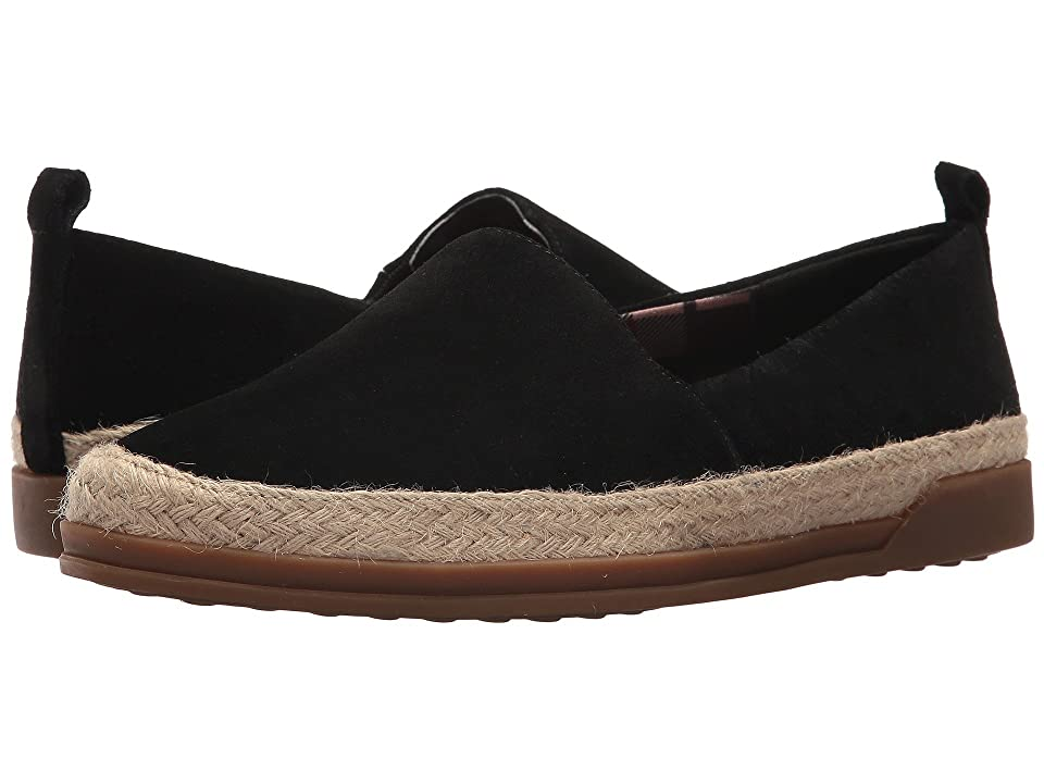 Blondo Bailey Waterproof Espadrille (Black Suede) Women
