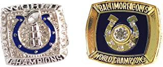 1970/2006 Indianapolis Colts Football Super Bowl Championship Rings for Man and Fans MVP Ring/Ring Set