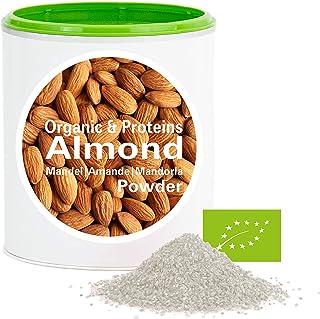 Mandelprotein Pulver – Bio Mandeln gemahlen | bio organic| good-proteins von good-nutritions| ohne zusatzstoffe  viele Inhaltsstoffe| 150 g