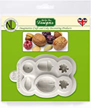 Katy Sue Nuts & Berries Silicone Sugarpaste Icing Mold, Nicholas Lodge for Cake Decorating, Sugarcraft, Candies, Crafts, Cards and Clay, Food Safe