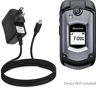 Kyocera DuraXTP Charger, BoxWave [Wall Charger Direct] Wall Plug Charger for Kyocera DuraXTP