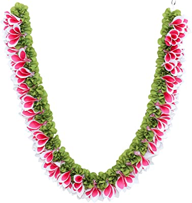 Daedal crafters- Champa Garland(Pink and White) DC39