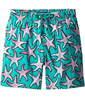 Vilebrequin Kids - Starfish Art Swim Trunk (Big Kids)