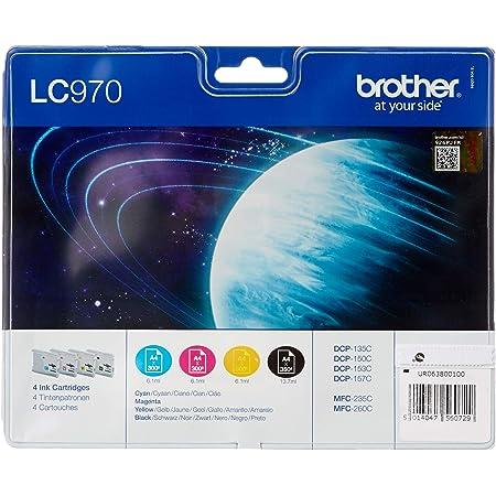 Brother Lc970 Value Pack Print Cartridge 1 X Black Elektronik