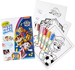 Crayola Paw Patrol Color Wonder, Mess Free Coloring Pages & Markers, Gift
