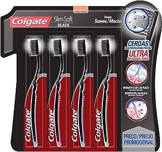 Colgate Slim Soft Cepillo Dental, Multicolor,