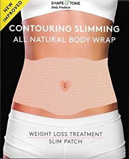 Contouring Slimming Ultimate All Natural Body Wrap 10 Applications