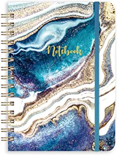 """Ruled Notebook/Journal - Lined Journal with Premium Thick Paper, 8.5"""" X 6.4"""", College Ruled Spiral Notebook/Journal, Bande..."""