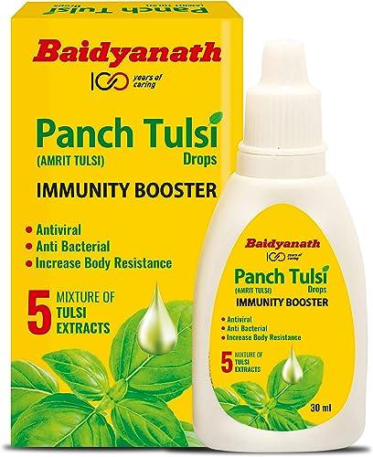 Baidyanath Panch Tulsi Drops Immunity Booster 30 ml