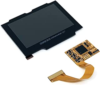 RGRS Game Boy Advance SP IPS Backlight LCD Mod Kit For AGS 001 & 101 with Storage Box [video game]