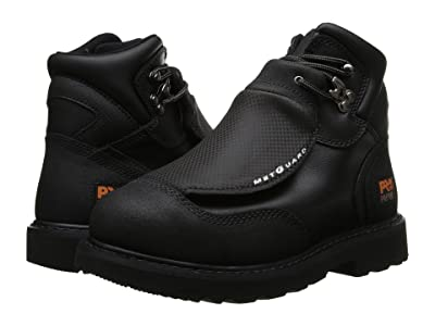 Timberland PRO Met Guard 6 Steel Toe (Black Ever-Guard Leather) Men