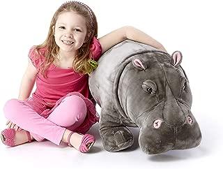 melissa and doug plush hippo