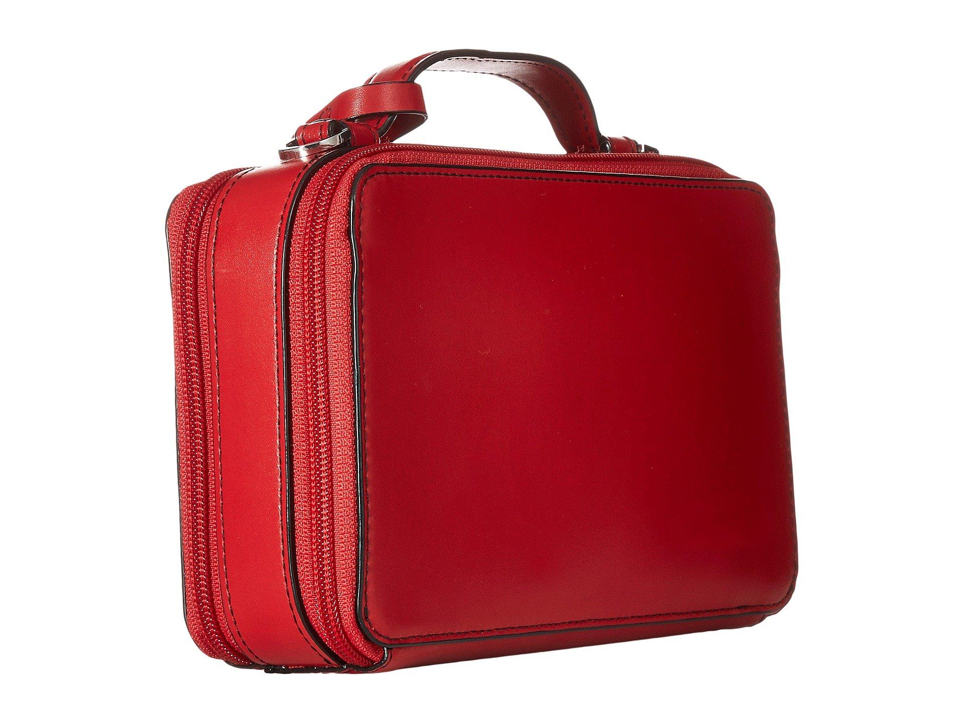 Red Audrey Lodis Rfid Around Accessories Sally Zip Crossbody Ox06qB