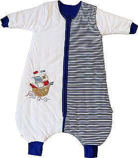 70 cm Slummersack 2,5 tog mangas desmontables Saco de dormir para beb/é con forro para todo el a/ño 0-6 meses