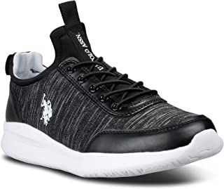 US Polo Assn Vista Athletic Mesh Canvas Running Sneakers...
