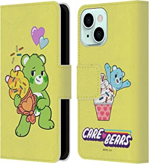 Head Case Designs Officieel Gelicentieerd Care Bears Good Luck Ice Cream Sweet And Savory Lederen Book Portemonnee Cover c...