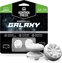 KontrolFreek FPS Freek Galaxy White for Xbox One and Xbox Series X Controller | Performance Thumbsticks | 1 High-Rise, 1 M...