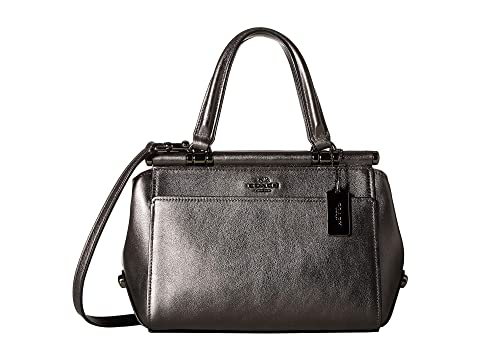 c47151125a01e COACH Grace 20 Bag in Metallic Leather at Zappos.com